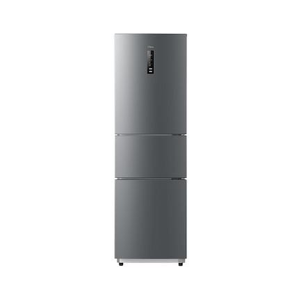 215L三门冰箱 风冷无霜变频铂金净味BCD-215WTPM(E)泰坦银