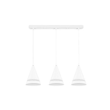 餐吊灯 北欧风格 烤漆铁艺灯体 MDY3X14-Z/E27-Y16(配3个3W灯泡)