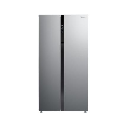 【送智能音箱】小天鹅520L对开门智能冰箱 一级能效 温湿精控 风冷无霜 BCD-520WKPZL