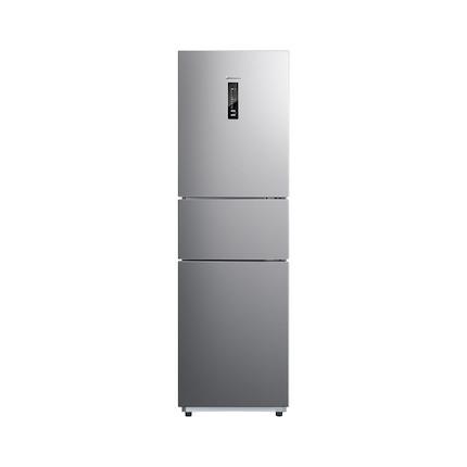 【四档变温】小天鹅225L三门冰箱 一级变频 风冷无霜 净味抗菌 双循环系统BCD-225WTPL