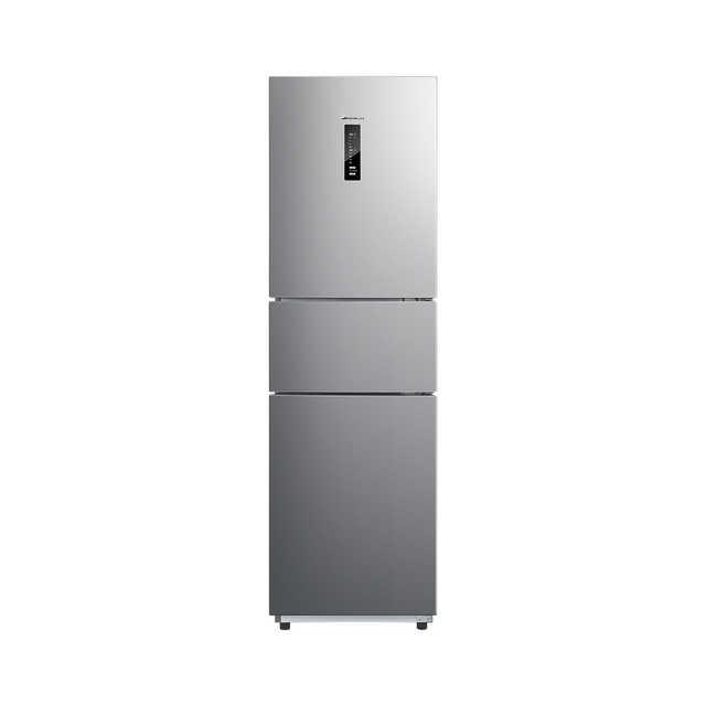 小天鹅225L三门冰箱 一级变频 风冷无霜 净味抗菌 双循环系统BCD-225WTPL