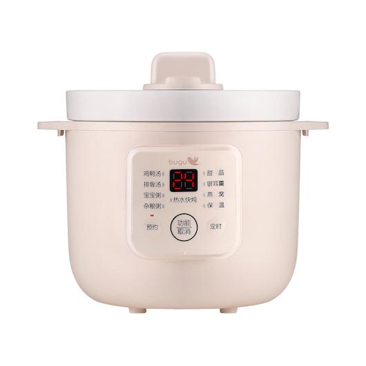 美的 布谷(BUGU) 电炖锅 8大菜单 原生瓷内胆 BG-S1