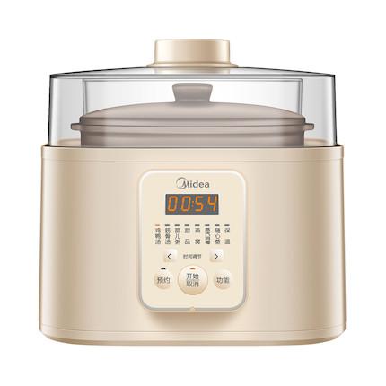 电炖锅(盅)古法蒸汽炖 一锅五盅 360°均匀蒸汽 DZ5-22151
