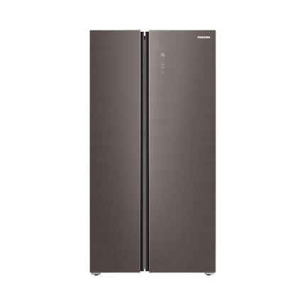 【生态柔感调湿】东芝对开门冰箱540L变频感温 高效净味 GR-RS567WE-PG1A8