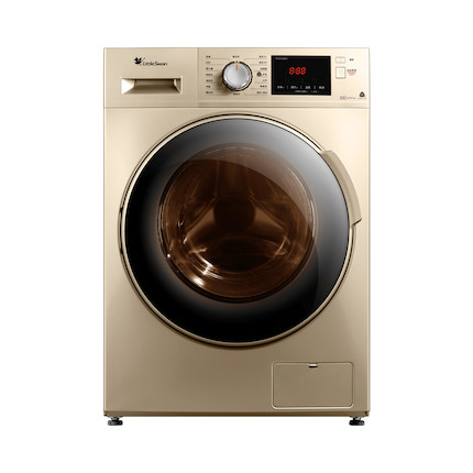 【热销爆款】小天鹅10KG滚筒洗衣机 健康除菌洗 特色羽绒服洗 一键筒自洁 TG100V22DG