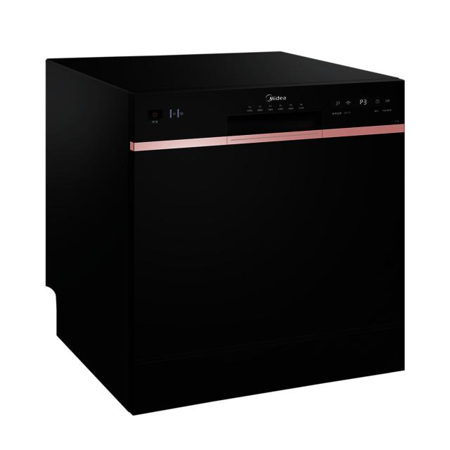 【台嵌两用】洗碗机 8套容量 20min超快洗 银离子消毒 WIFI智控 WQP8-D18-CN