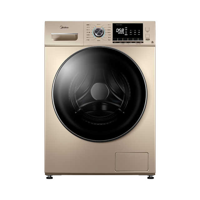 【双重蒸汽抗菌除螨】10KG滚筒洗衣机 低噪变频 祛味空气洗 MD100VT55DG