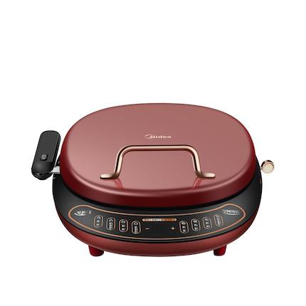 【煎烤机】精致复古电饼铛 25mm可升降烤盘 带手柄可拆盘 智能烹饪提醒 MC-JK30P301