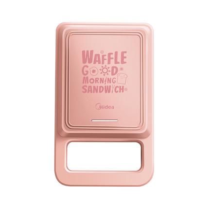 【两种烤盘】【华夫饼机】三明治早餐机 轻食机 家用多功能 加热吐司  甜粉 JK1312P101P