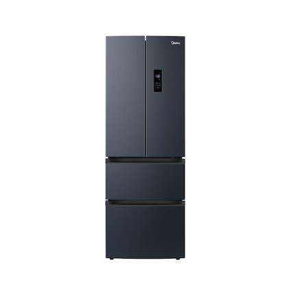 【19分钟急速净味】美的322升一级变频净味除菌无霜智能冰箱BCD-322WFPZM(E)