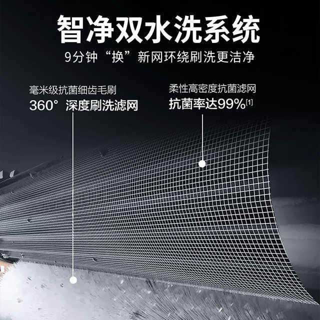 美的领鲜者PRO1.5匹新一级无风感空调挂机智能KFR-35GW/BP3DN8Y-KW100(1)
