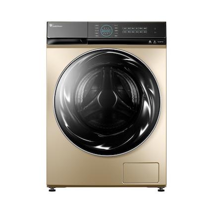 【快舒省蒸汽烘干】小天鹅 洗烘一体洗衣机10KG智能家电超微净泡水魔方 TD100RFTEC