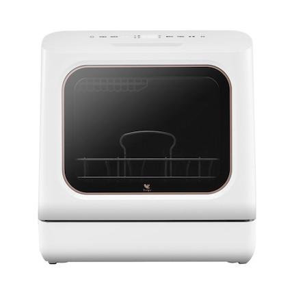 【9.9元换购小煮锅】美的 布谷(BUGU)  洗碗机 免安装 19分钟超快洗 BG-DC01N