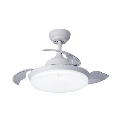 悦风吊扇灯FD2001 亚白色 36寸隐形扇 遥控操作 光色风量可调MFD72-M/K-Y01