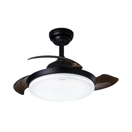 悦风吊扇灯FD2001 亚黑色 36寸隐形扇 遥控操作 光色风量可调MFD72-M/K-Y02