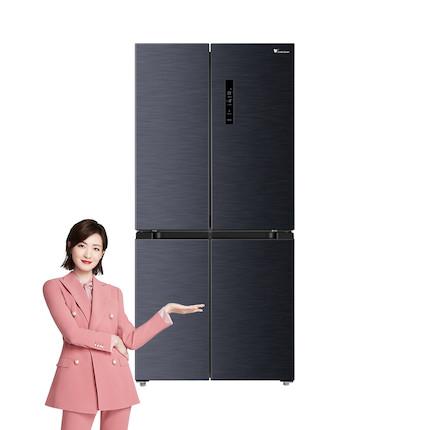 【母婴冰箱】小天鹅445L一级变频  银离子抑菌 铂金净味智能家电冰箱BCD-445WSPZL(E)
