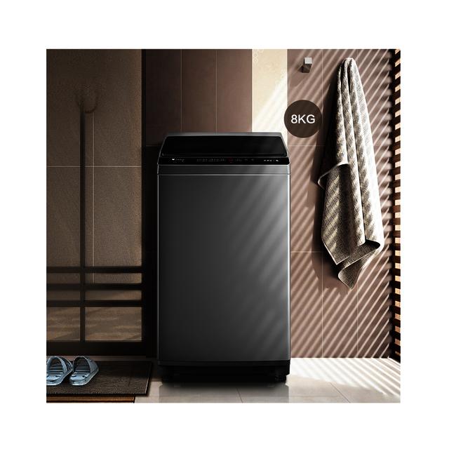 【9小时预约洗】小天鹅波轮洗衣机 免清洗 直驱变频电机 除螨洗 TB80V23DB