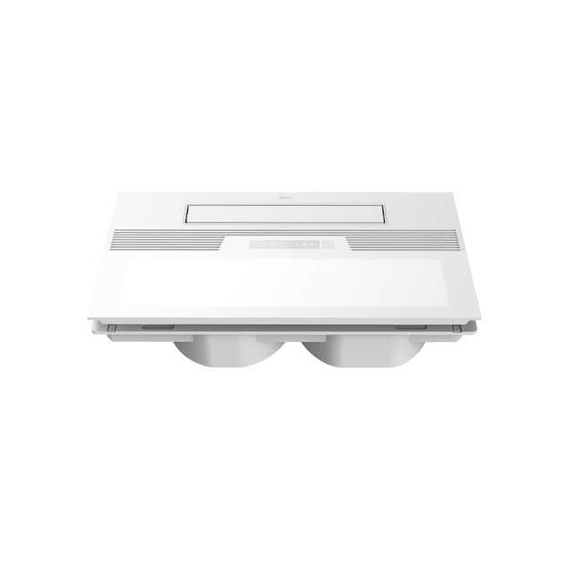 美的凉霸LY1901-S71 双风轮双风量 可换气 遥控可贴墙