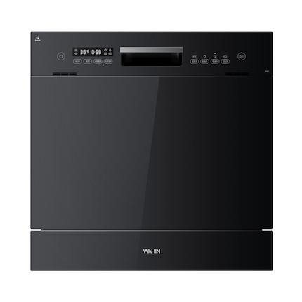 华凌【vie7独嵌两用】智能家电 洗碗机 8套 二星消毒 智能测污洗 WQP8-W3909E-CN