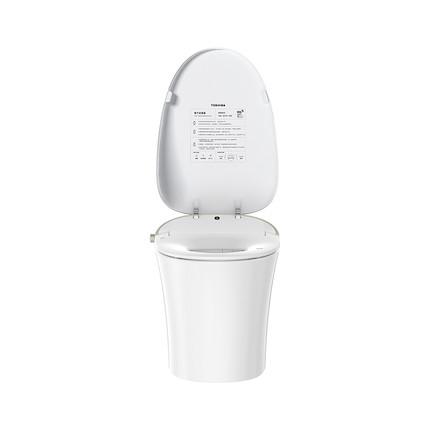 东芝智能马桶盖一体座便器A5秒速即热抗菌APP智能家电 抗距400mm A5-86D6-400