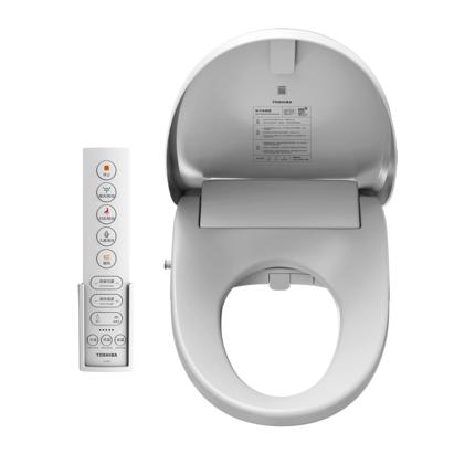 东芝智能马桶盖 智能家电 即热抗菌智能坐便盖日本进口芯片 暖风款T5-85D6