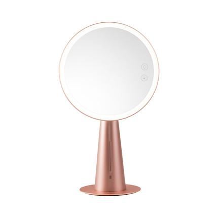 美的美悠T08化妆镜灯 8寸大镜面 玫瑰金 MTD4-M/K-08
