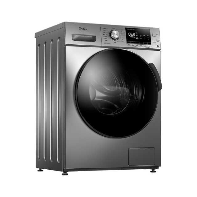 【双重蒸汽 抗菌除螨】美的洗烘一体洗衣机 抗菌门封圈10KG大容量MD100VT55DG-Y46B