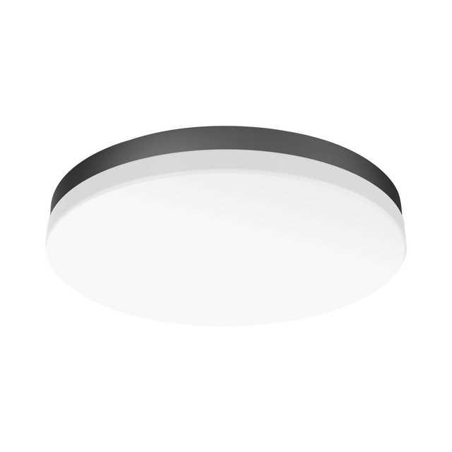 吸顶灯/卧室灯 明轩X906智能家电 24W 调光调色 时尚酷黑 MXD24-M/K-Y152