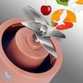 布谷(BUGU) 无线便携 细腻无渣 超长续航 随行榨汁杯榨汁机 BG-JS2 (少女粉)