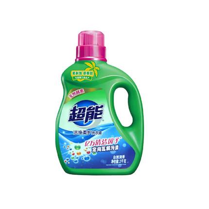 洗衣液 超能洁净柔护洗衣液2kg