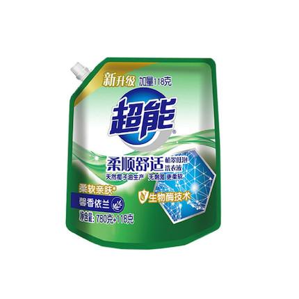 洗衣液 780g+118g超能植翠洗衣液(柔顺舒适)