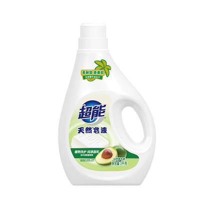 洗衣液 3kg超能天然皂液