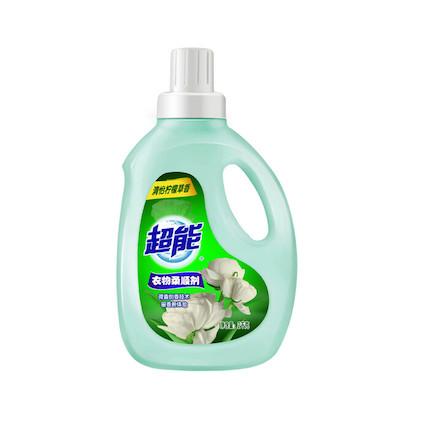 洗衣液 超能衣物柔顺剂(柠檬草香)2kg/瓶装