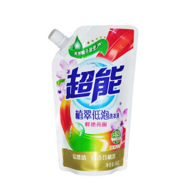 洗衣液 500g超能植萃低泡洗衣液