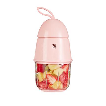 美的 布谷(BUGU) 糖豆儿童辅食机/宝宝料理机/多功能搅拌机 BG-BL2N(粉)