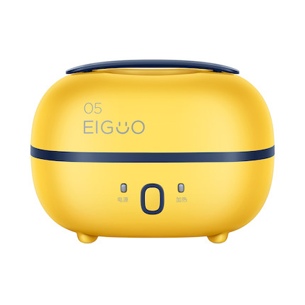 【新品】萌潮捣蛋鬼 小巧便携 蒸汽循环加热20min速热 多重空间 电热饭盒 MB-FB10M305