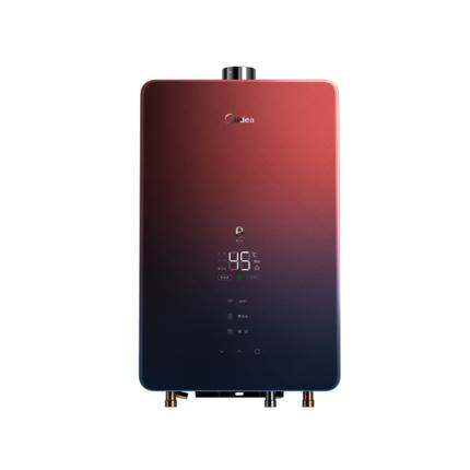 【颜值款】智能家电 燃气热水器 极光款16L 增压零冷水 WIFI 玻璃全面屏 JSQ30-TX7