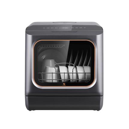 【晒单返50】布谷 免安装台式洗碗机 19min快洗 紫外杀毒 高温洗涤 BG-DC11S