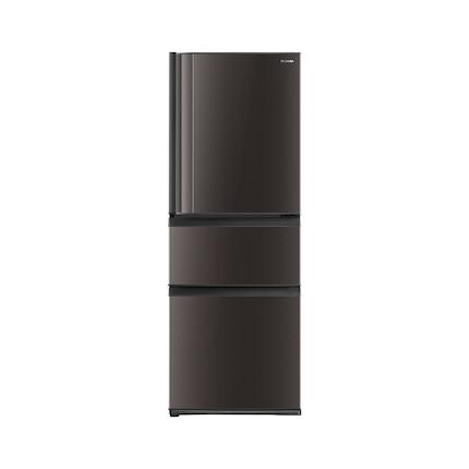 【星级料理冰箱】东芝329L无霜冷冻银离子抗菌三门冰箱节能大容量GR-RM345WE-PM237
