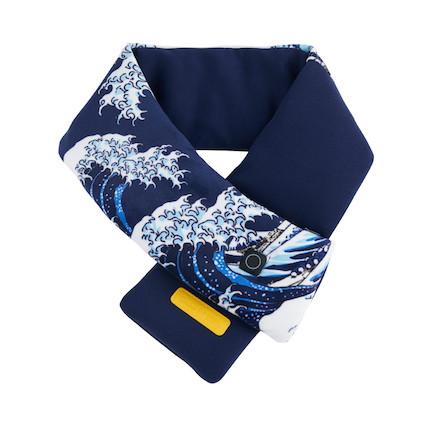 【大英博物馆联名款】发热围巾 远红外理疗 可重复水洗 加热围巾MK-GI0204