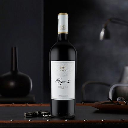 红酒 【美贺庄园】尊享西拉干红葡萄酒2017