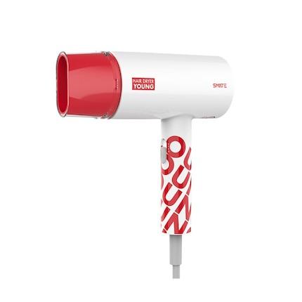 须眉1800瓦负离子大功率家用单风嘴白色款电吹风 SH-805