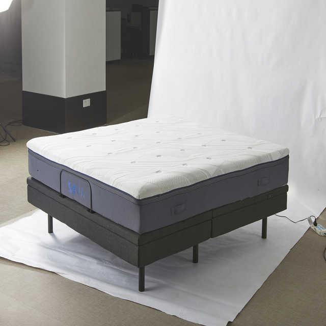 梦洁家纺 美的 床上用品 SOMUS·I SLEEP乳胶太空绵三合一厚垫