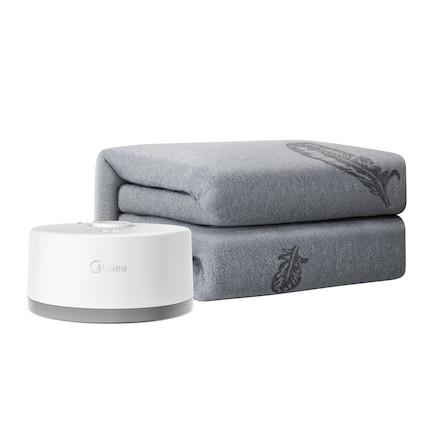 买大送小【暖冬必备】美的电热水暖床垫水暖毯 水循环供热 除螨祛湿 SN-1830-S
