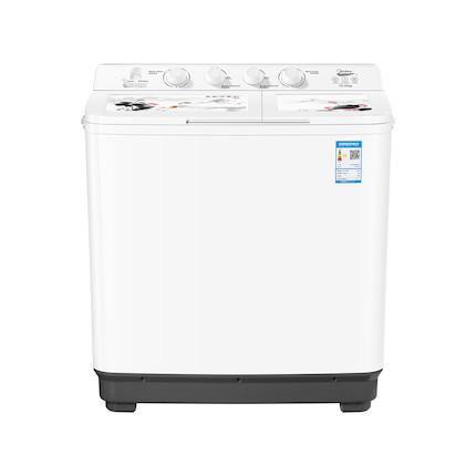 美的 10KG 双桶洗衣机 净衣科技 洗脱分离 品牌电机 MP100-S877