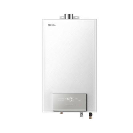 东芝燃气热水器13L CO防护精控恒温强排式日本原装CPU JSQ25-TS3