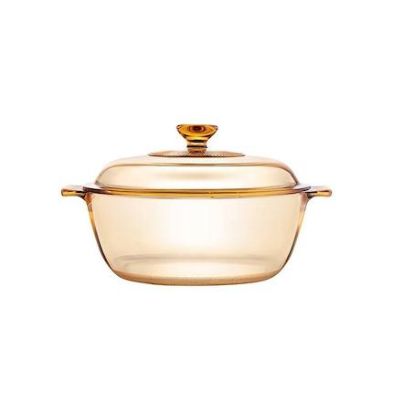 【VISIONS 康宁】玻璃锅家用3L炖锅