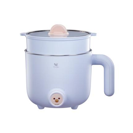 布谷网红小煮锅带蒸笼/不锈钢 BG-SP21