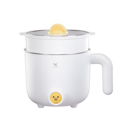 布谷网红小煮锅带蒸笼/不锈钢BG-SP21