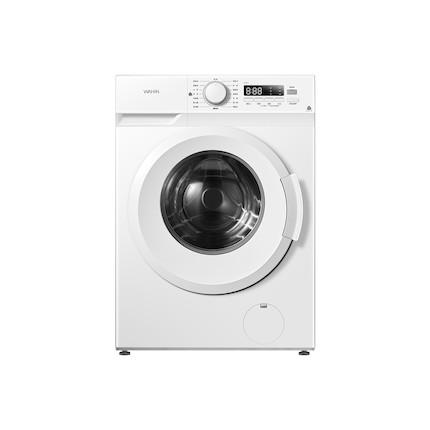 【美的出品】华凌7.2KG滚筒洗衣机  400mm纤薄机身  双温除菌  HG72X1
